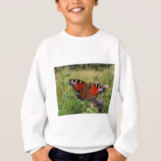 European Peacock Butterfly Sweatshirt