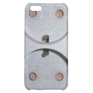 European Power Plug Case For iPhone 5C