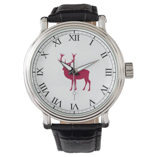 European Red Deer Christmas or Stag Party Watch