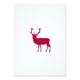 European Red Deer Stag - Stag Party Custom Invitation