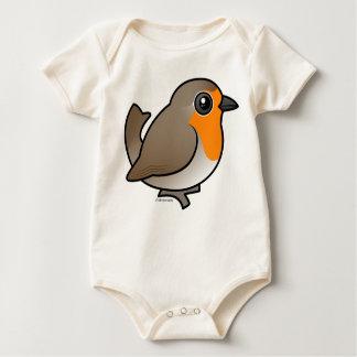 European Robin Baby Bodysuit