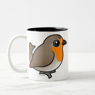 European Robin Coffee Mugs