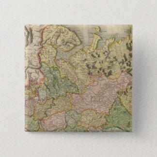 European Russia 15 Cm Square Badge