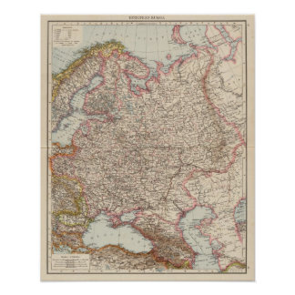 European Russia Poster