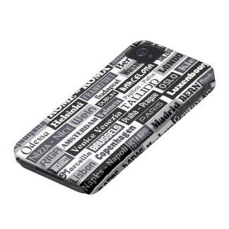European Traveler iPhone case-mate