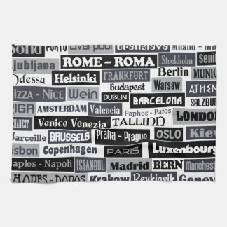 European Traveler kitchen towel