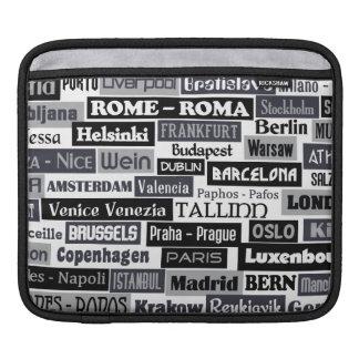 European Traveler laptop / iPad sleeve