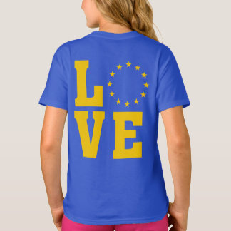 European Union Citizens, LOVE EU T-Shirt