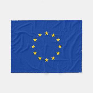 European Union EU Flag Europe Fleece Blanket