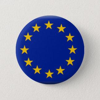 European Union Flag 6 Cm Round Badge