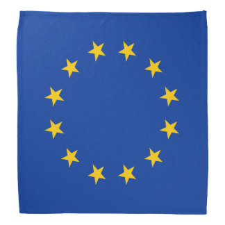 European Union flag Bandana
