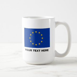 European Union flag big coffee mug | EU Europe