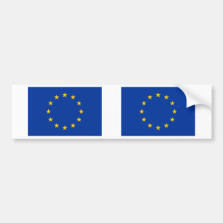European Union Flag Bumper Sticker