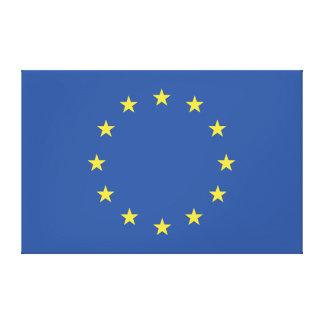 European Union Flag Canvas Print