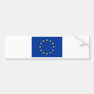 European Union Flag / EU Flag Bumper Sticker