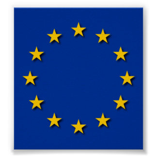 European Union Flag / EU Flag Poster