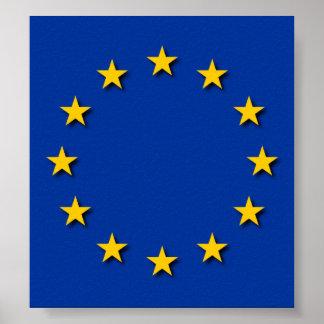 European Union Flag / EU Flag Poster