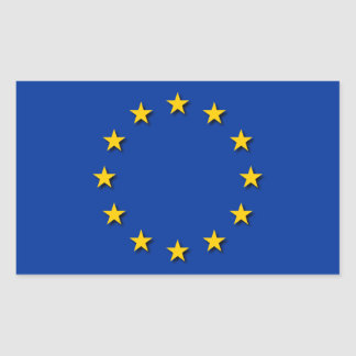 European Union Flag / EU Flag Rectangular Sticker