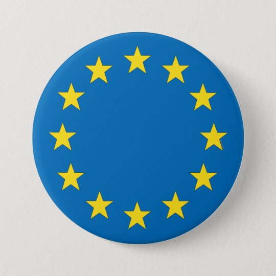 European Union flag EU referendum StrongerIn 7.5 Cm
