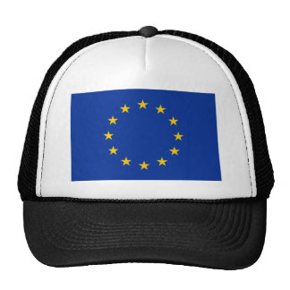 European Union Flag Hats