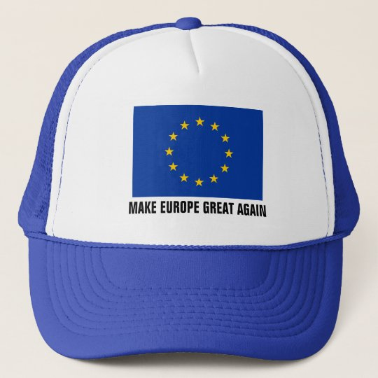 European Union flag hat | MAKE EUROPE GREAT