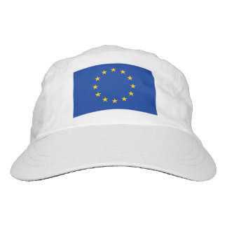 European Union flag knit and woven sports hats