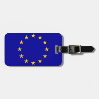European Union flag Luggage Tag
