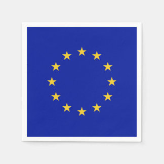 European Union Flag Paper Napkin
