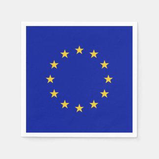 European Union Flag Paper Serviettes