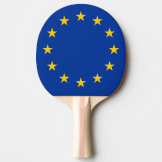 European Union flag ping pong paddle | EU stars