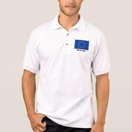 European Union flag polo shirt | EU Europe