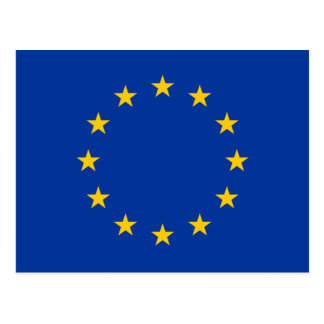 European Union Flag Postcard