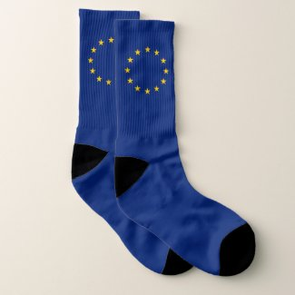 European Union flag Socks