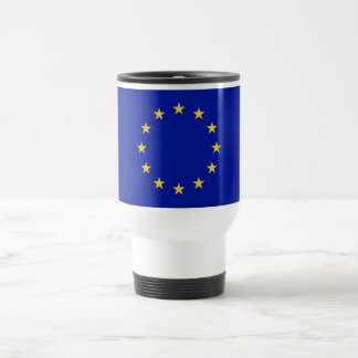 European Union Flag Travel Mug