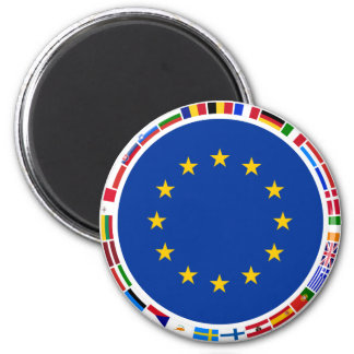 European Union Flags Magnet