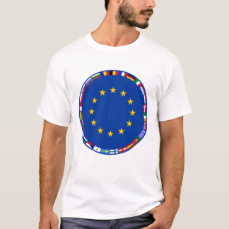 European Union Flags  T-Shirt