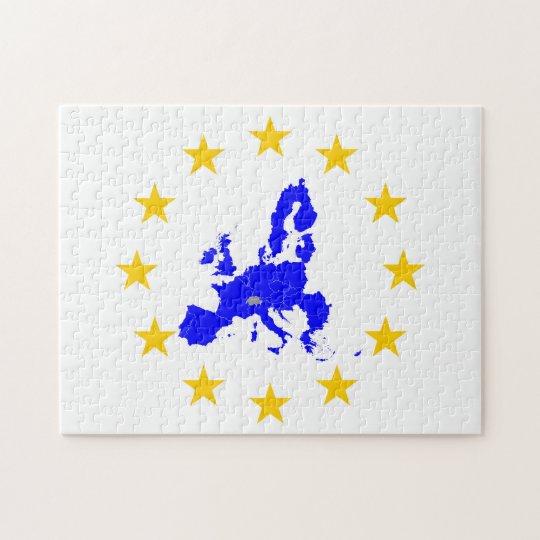 European union jigsaw puzzle