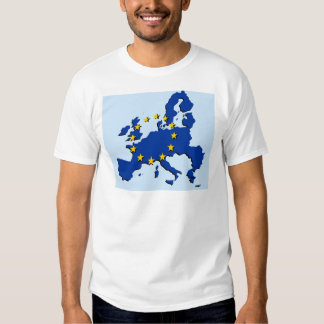 European Union map and flag Shirt
