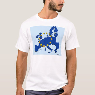 European Union map and flag T-Shirt