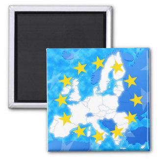 European Union Refrigerator Magnet