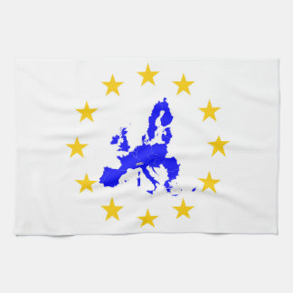European union tea towel