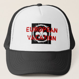 European Vacation Trucker Hat
