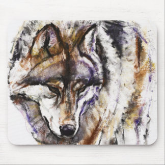 European Wolf Mouse Mat