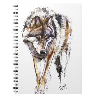 European Wolf Notebooks
