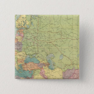 Europe's overland, sea communications 15 cm square badge