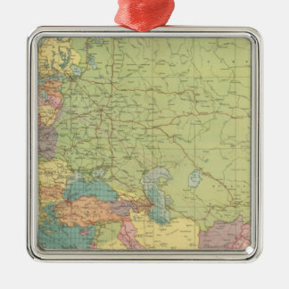 Europe's overland, sea communications christmas ornament