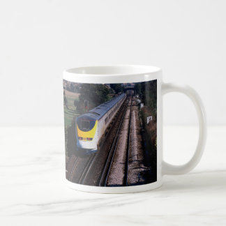 Eurostar passenger train basic white mug