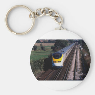 Eurostar passenger train key ring