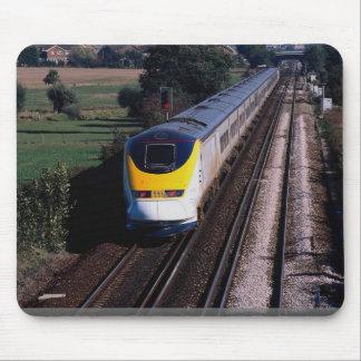 Eurostar passenger train mouse mat