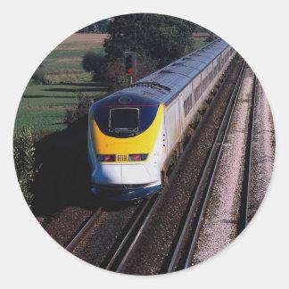 Eurostar passenger train stickers